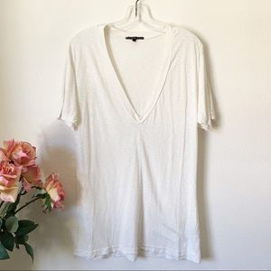 UO Truly Madly Deeply White Tee